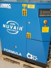 Compresor de tornillo nuvair formula 20 cv
