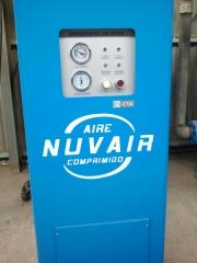 Secador frigor�fico nuvair dhr-2800 capaz de refrigerar un caudal de 2800 mts c�bicos/hora