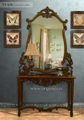 Consola Le�n con espejo, 465 EUR
