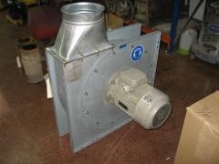 Motor con turbina y cartuchos de bombas aguas residuales.