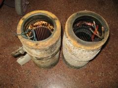 Cartuchos de bombas de aguas residuales para bobinar.