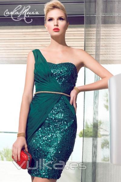 2defa6981 Vestido de fiesta de Carla Ruiz modelo 88108 en Boutique Clara