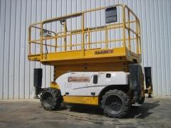 Plataforma Tijera Diesel HAULOTTE C12DX