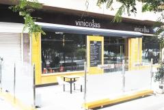 Terraza restaurante bodega vinicolas