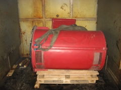 Secado al horno de motor siemens de 500 kw.