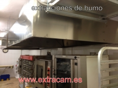 Campanas extractoras industriales,extracci�n de humos.