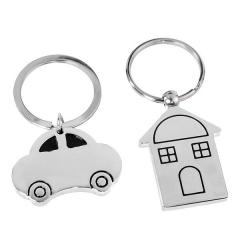 Gifts. llavero doble casa y coche en la llimona home