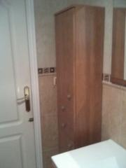 Reforma de baño en alicante - mueble auxiliar