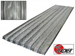 Placas PLACNER. Paquete de 18 placas (2,50 m. x 0,69 m. = 31,05 m�)