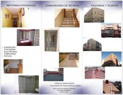 Reforma portales en madrid, reforma patios en madrid