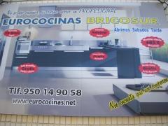 Cartel eurococinas bricosur