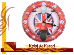 London reloj de pared