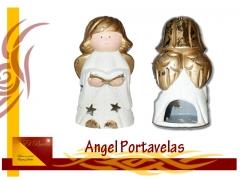 Figura angel portavela