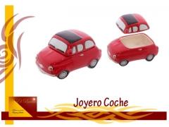 Joyero coche rojo