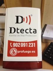 Alarmas de alta proteccion dtecta by profuego