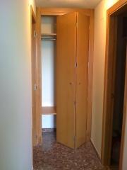 Carpinteria salmartín. armario sin obra con puertas de libro