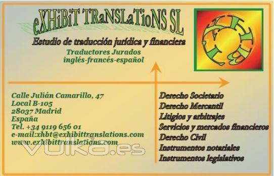 Exhibit Translations_vcard