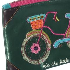 Natural life monedero bicicleta con cesta en la llimona home (2)