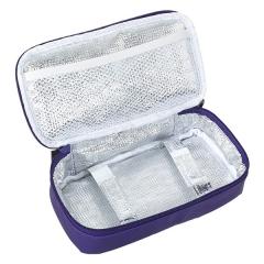 Porta comidas. estuche porta bocatas lunch time lila en la llimona home (2)
