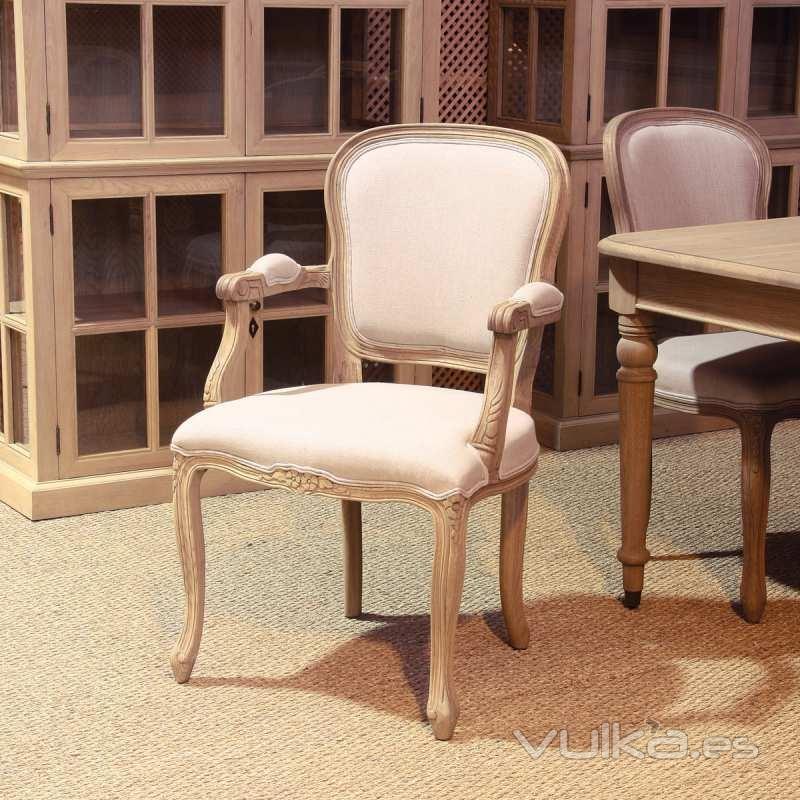 Artenara decoraci n tienda online for Silla vintage reposabrazos