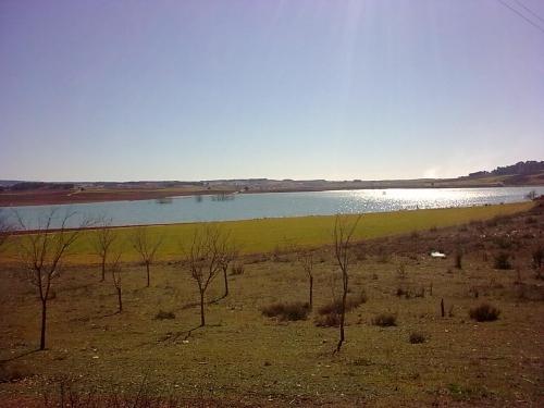 vistas del pantano de Alarcon desde la casa de los fer