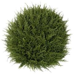 Plantas artificiales. planta bola cedro artificial verde 50 - la llimona home