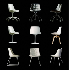 Sillas flow chair de mdf italia
