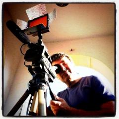 Configurando la cámara.
