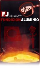 Logo fundicion de aluminio f.j.