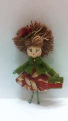Broche mu�eca broches mu�ecas brooch doll