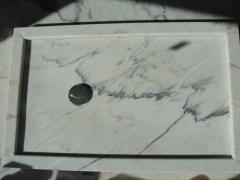Plato ducha marmol portugues