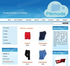 Pikmode s.l. portal de ventas