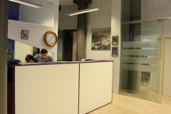 Recepción de la academia new languages en barcelona