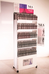 Expositor destinado a perfumerias