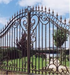 Puerta fragua