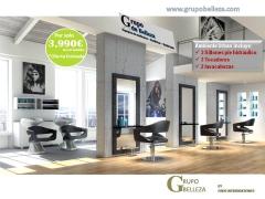 Muebles de peluquer�a completa ,lavacabezas ,mobiliario de peluqueria, peluqueria,