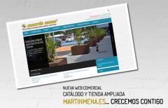NUEVA WEB www.martinmena.es en cuanto a mobiliario urbano se refiere