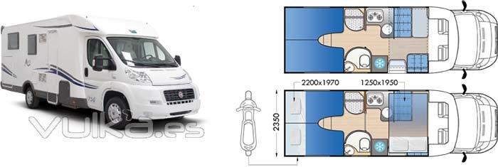 Autocaravanas MC2 63G