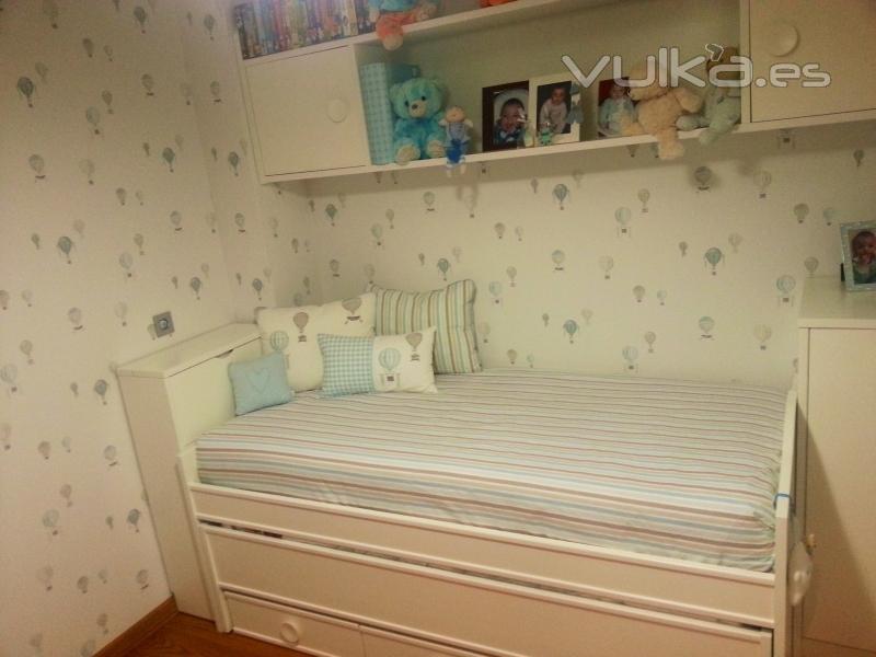 Foto empapelado dormitorio infantil - Dormitorios empapelados ...