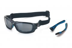 Gafa polarizada reflex con patillas y cinta intercambiables. hi-par.com