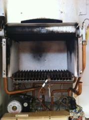 Reparación caldera2