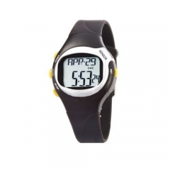 Reloj pulsómetro botones amarillos