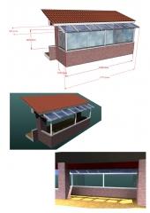 Proyecto para avance de cristal y correderas sin perfiler�a.