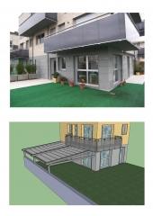 Proyecto de p�rgola para vivienda.