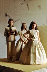 Figuras para tarta de comunión de threedee-you foto-escultura 3d-u