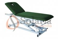 Camilla de masaje hidr�ulica ch-127 : camilla de masaje y reconocimiento hidr�ulica de 2 secciones