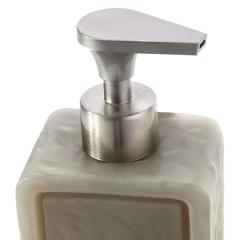 Dosificadores de ba�o. dosificador ba�o soap rectangular gris 1 - la llimona home