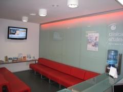 Sala de espera para los pacientes y acompa�antes.