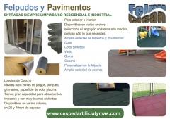 Felpudos y pavimentos, entradas siempre limpias. amplia variedad de felpudos. uso residencial e indu