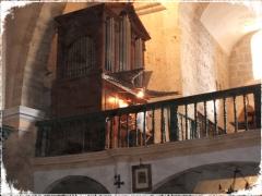 �rgano y coro de la parroquia de San Juan. Palencia.